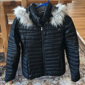Spyder down-fill jacket puffy